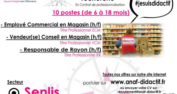 recrutement magasin