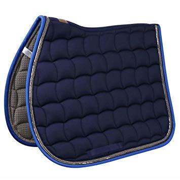 tapis de selle bleu marine