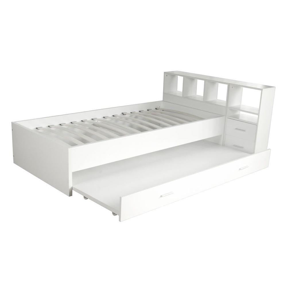 lit 1 place blanc