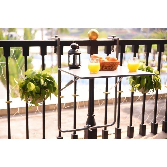 8028de1739820 ▷ Avis Table balcon 【 En 2019, achetez avec le Meilleur Comparatif ...