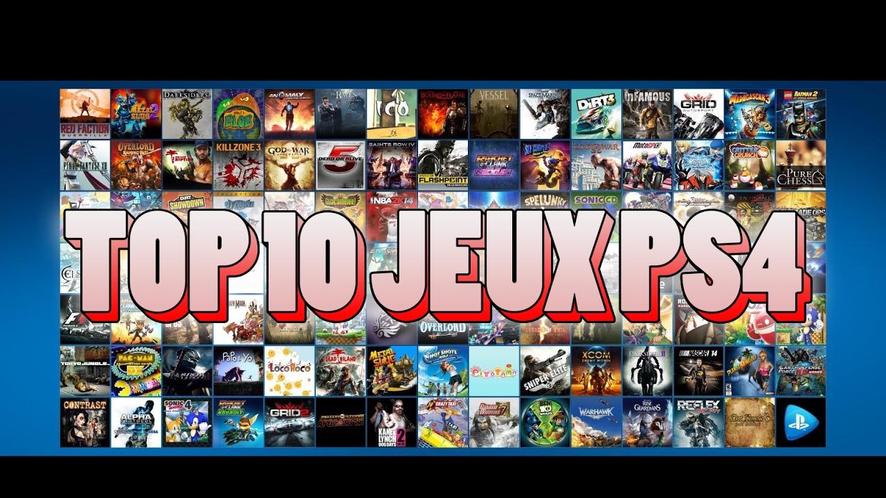 top jeux ps4