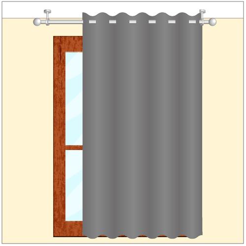tringle a rideau plafond