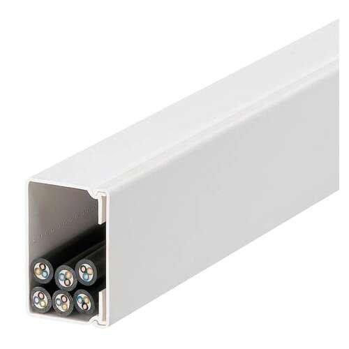 blanc Legrand LEG98260 Goulotte /à clippage direct 80 x 50 mm