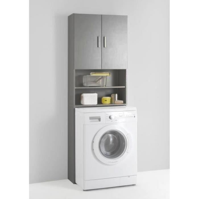 meuble dessus machine à laver