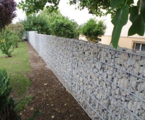 mur en gabion