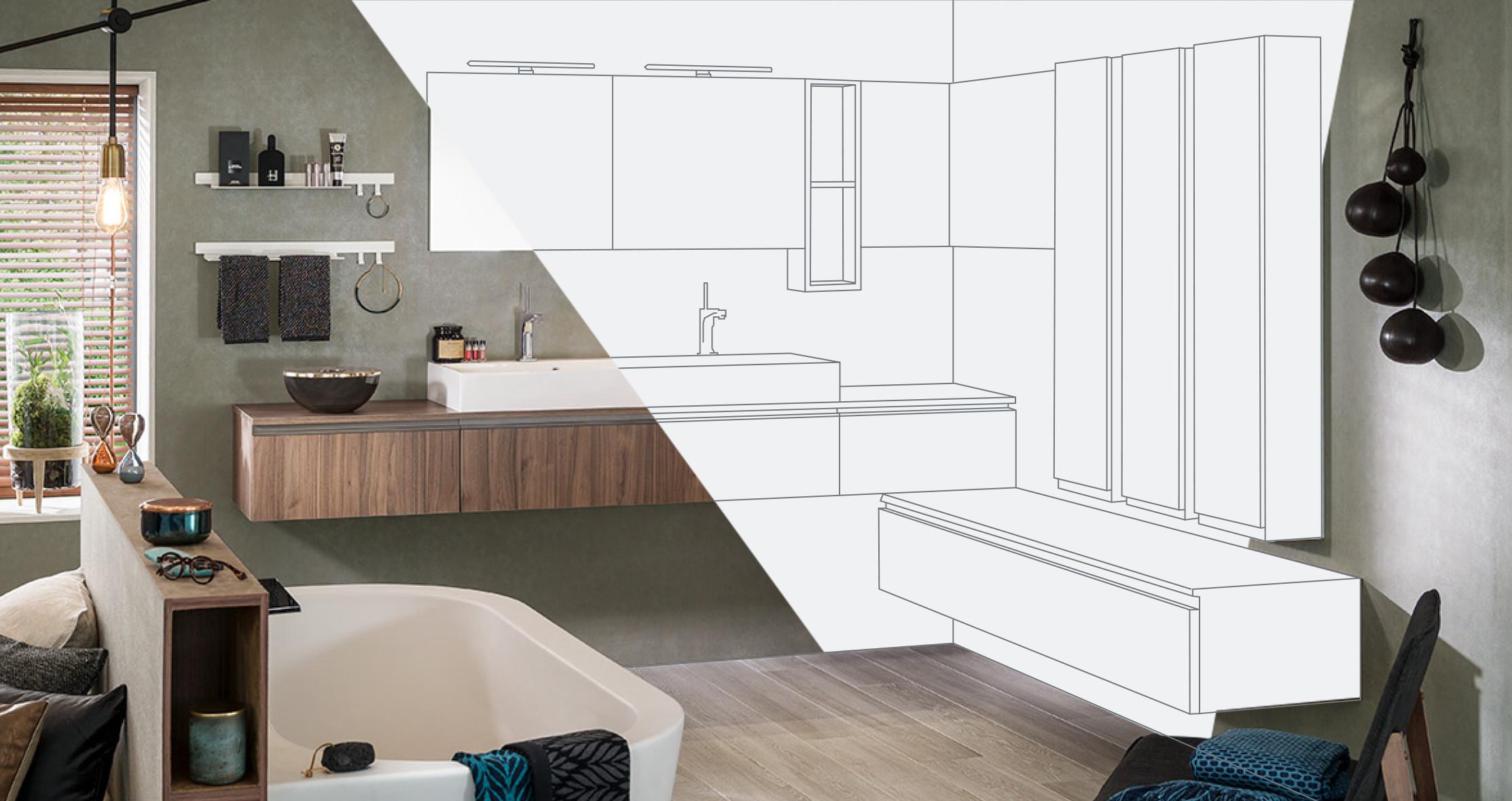 salle de bain 3d