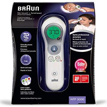 thermometre bebe braun
